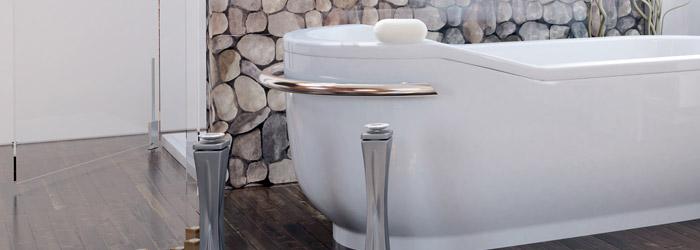 Parkett hält auch im Badezimmer Einzug › www.profi-massivholzdielen.de